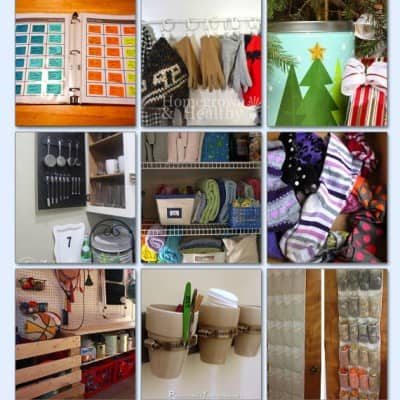 organization hacks for the home
