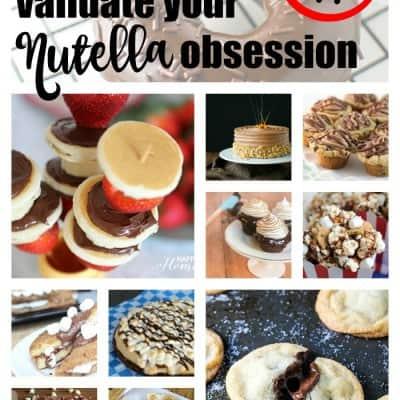 nutella recipes roundup