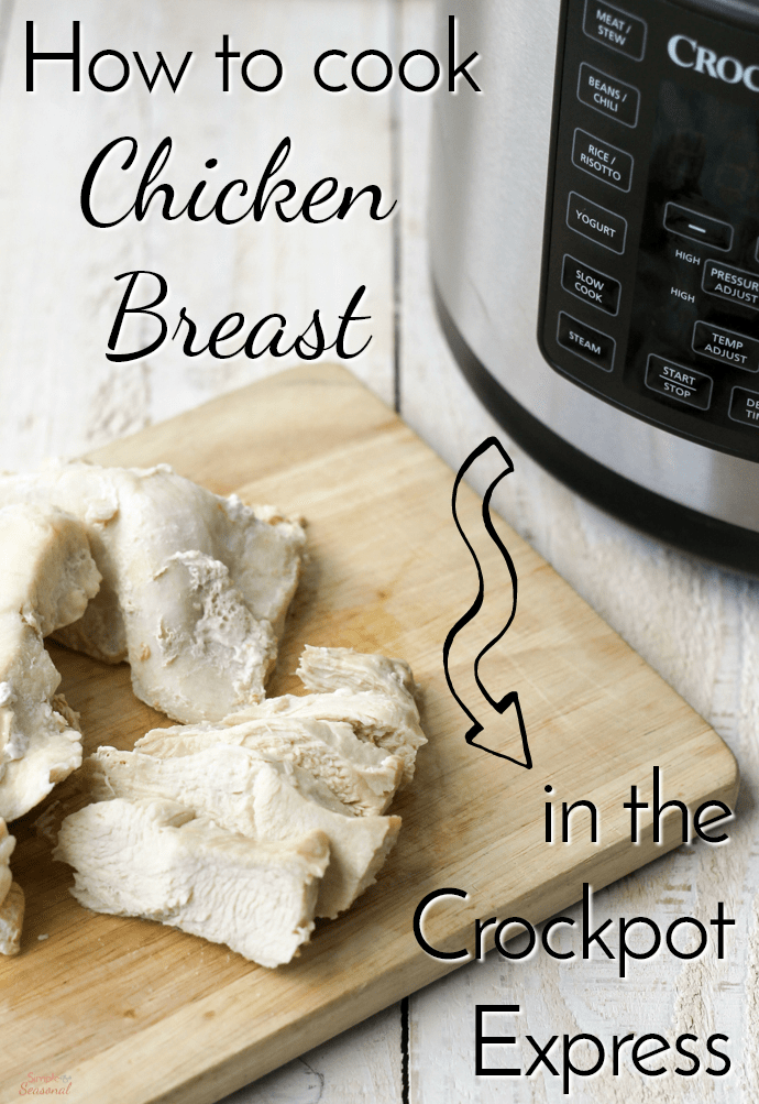 Crockpot Express Chicken Breast