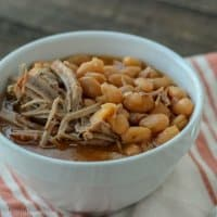 bowl of pork and beans