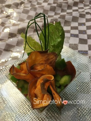 sweet-potato-floral-appetizer-with-checked-tablecloth