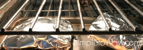 chicken foil packets in oven