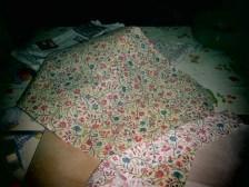 Waxed fabric (yellowish)