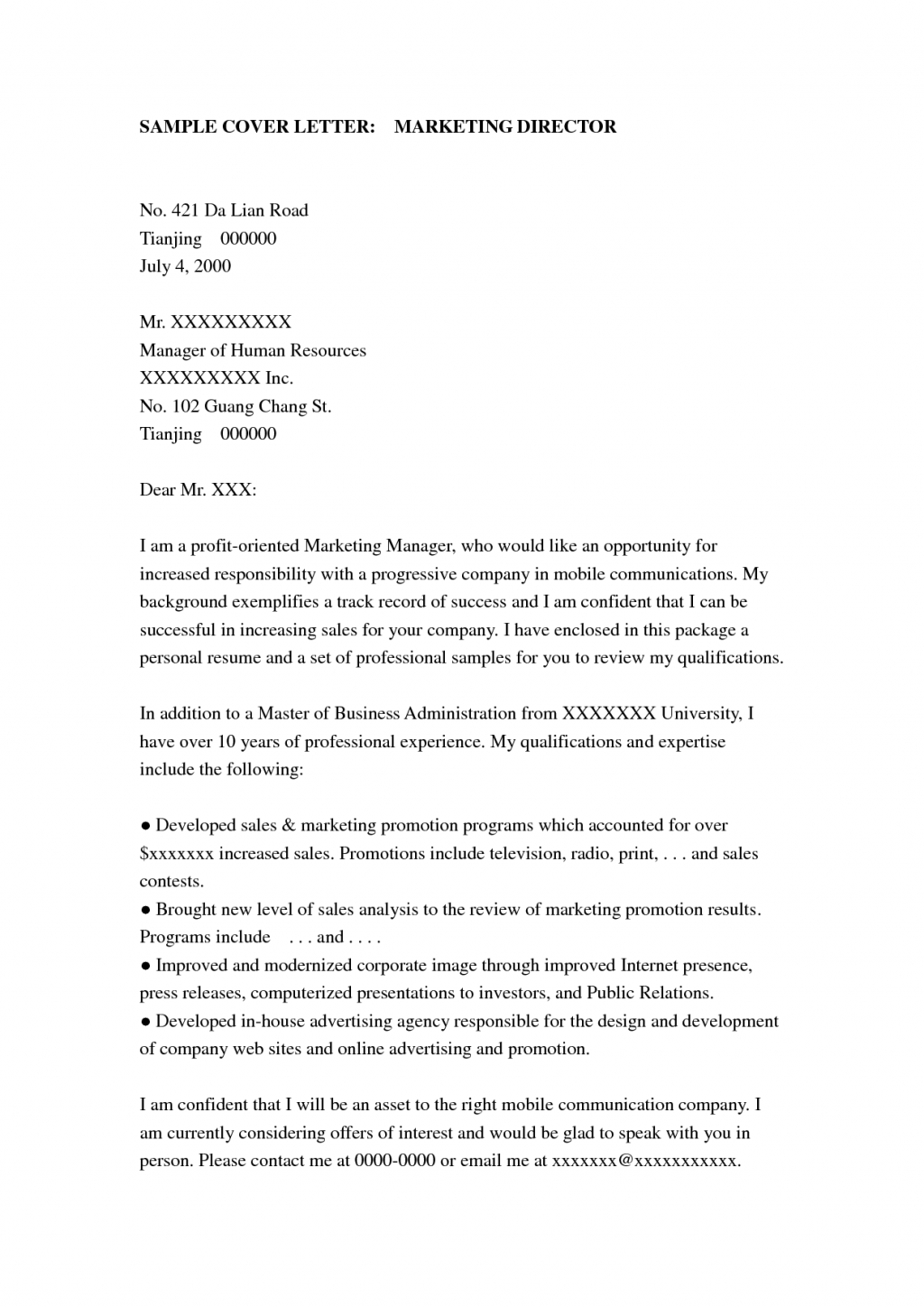 Advertising Agency Of Record Letter Template Samples Letter Template Collection