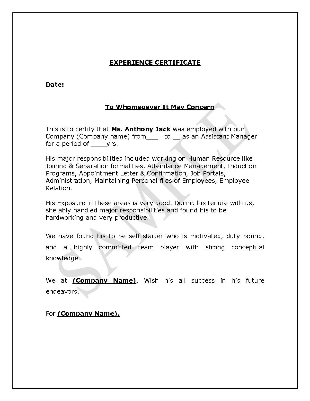 Cover Letter Job Application Template Doc