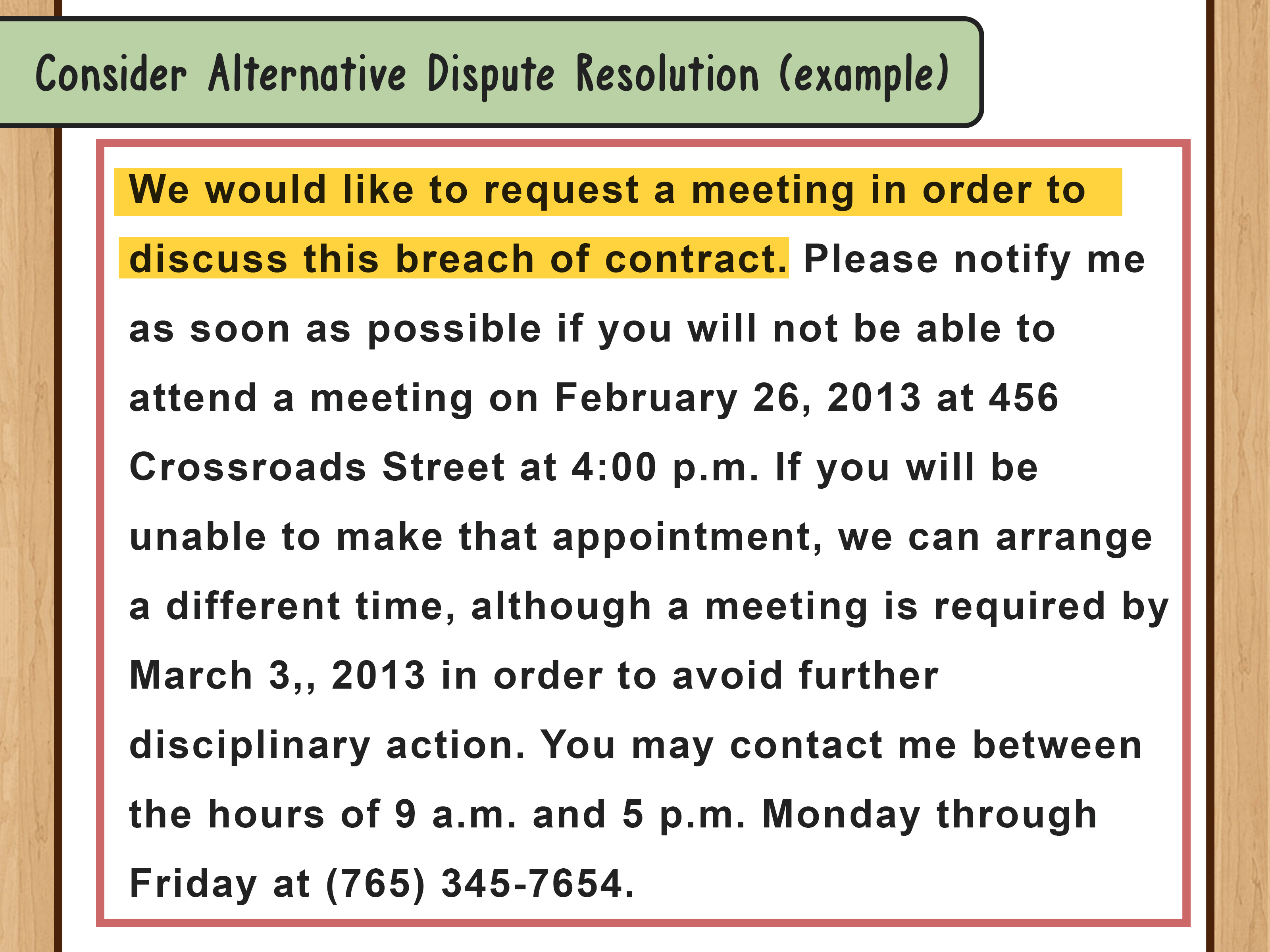 Contract Negotiation Letter Template Examples
