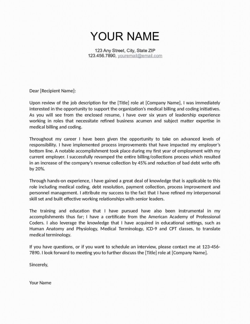 Rejection Letter Template After Interview - Letter