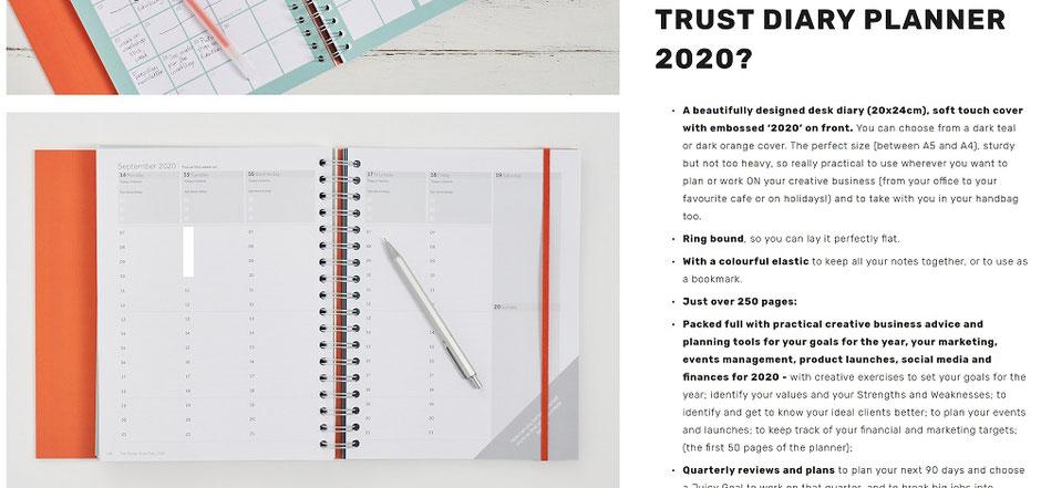 design trust art business planner
