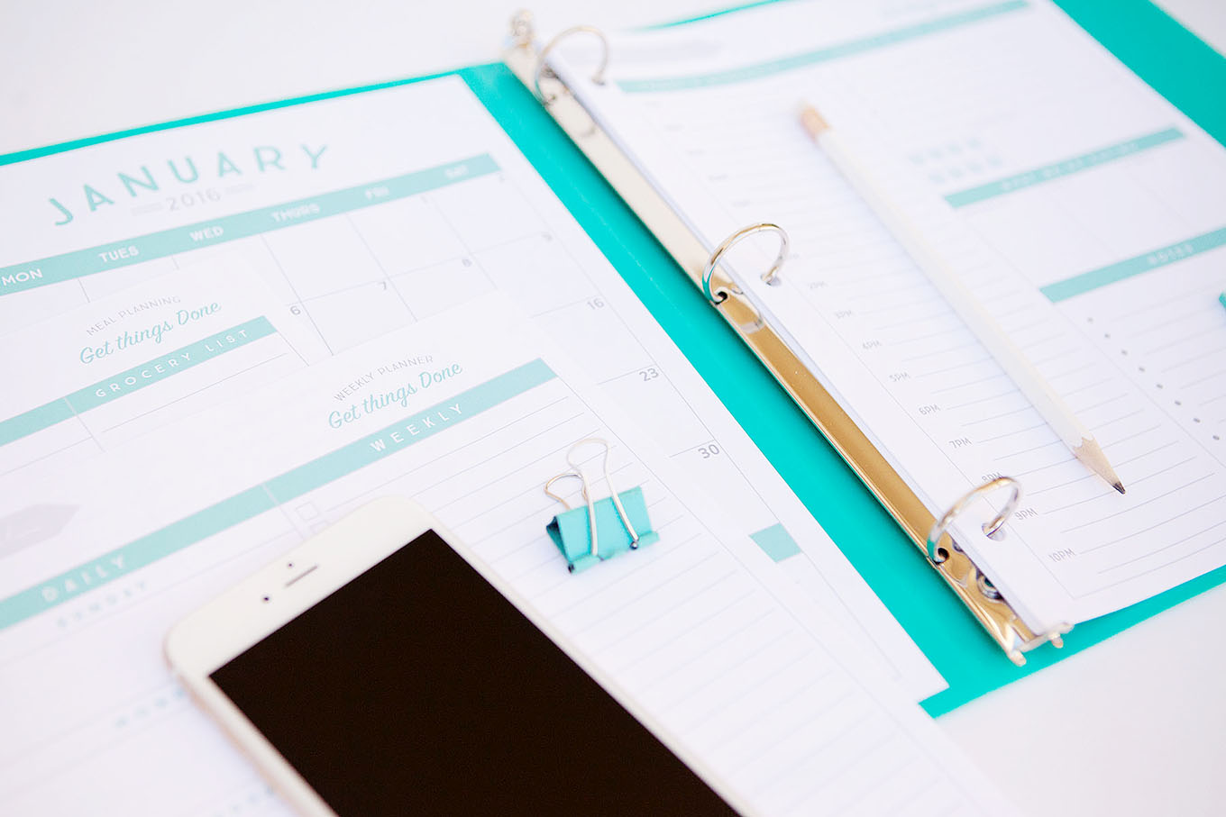 Organizational Printables To Streamline Your To Do Lists Your Schedule Your Meal Plans Your Life