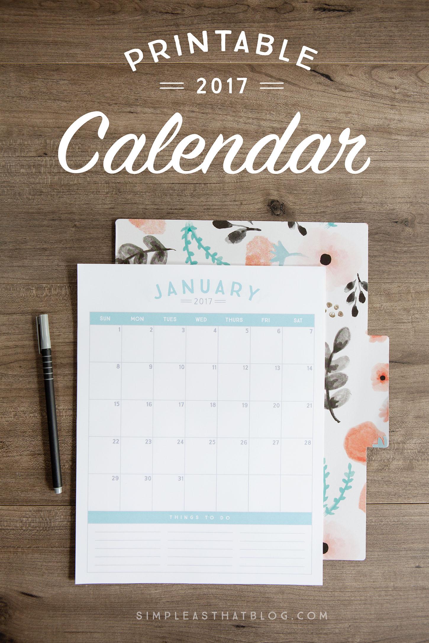23 Free Calendar Printables Mom Spark