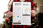 This free printable year in review sheet gives children a chance to reflect on their favorite memories from the past year and look ahead to new goals and adventures in 2018!