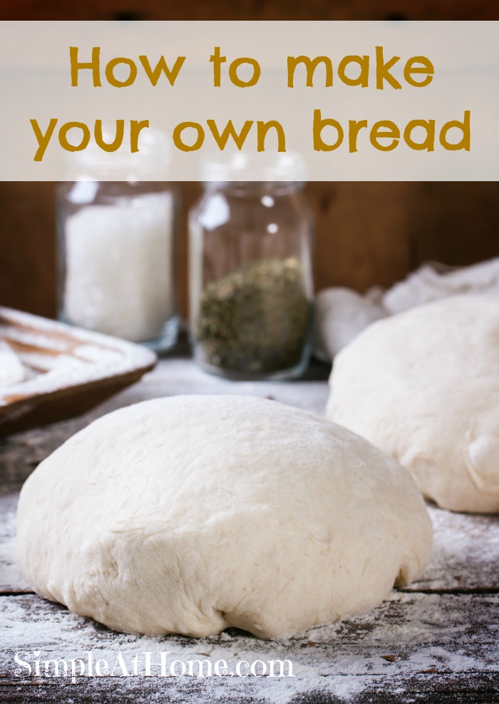 How to make your own homemade bread a vital homesteading and prepping skill.