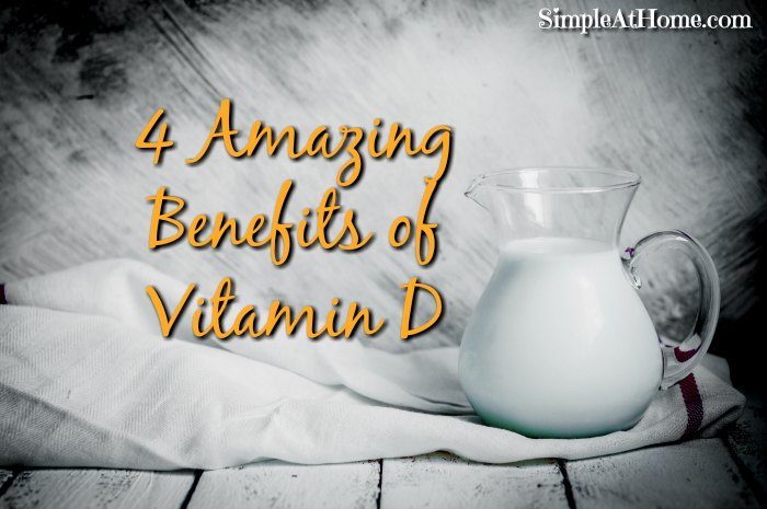The amazing benefits of vitamin d