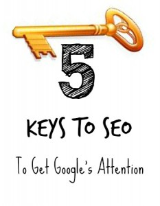 5 Keys to SEO: Get Google's Attention