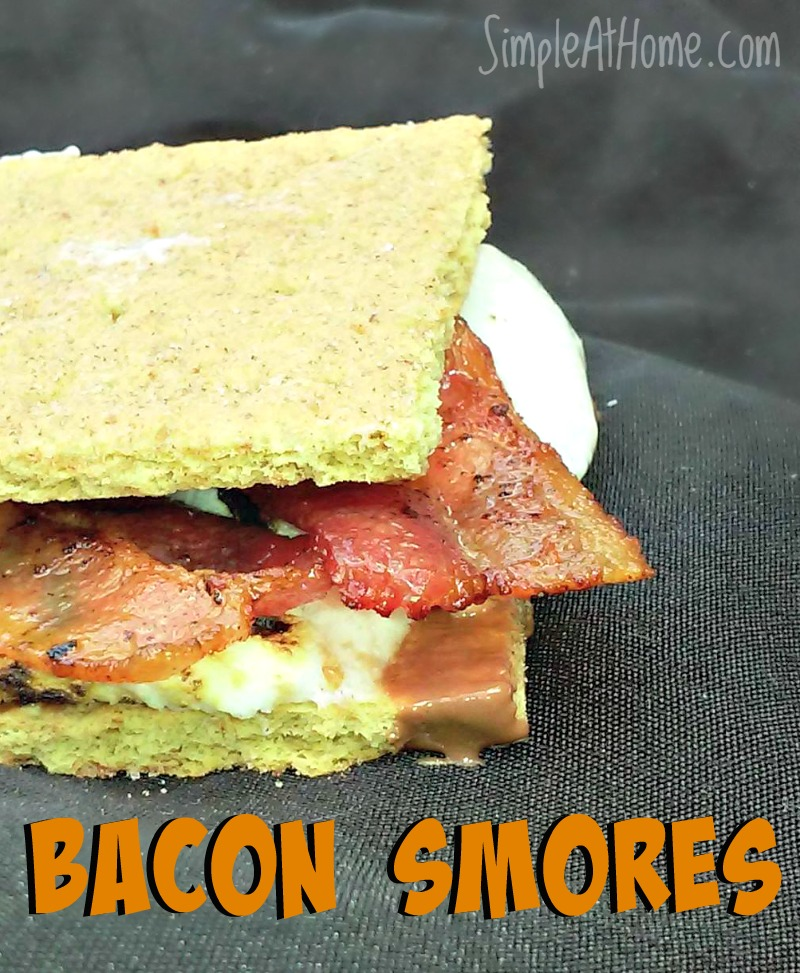 Looking to spice things up this summer? how about a savory twist to classic s'mores