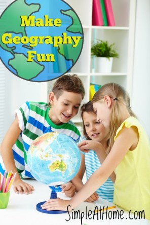 Make Geography fun for your child.