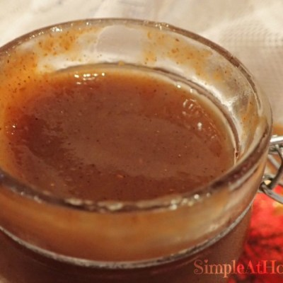Pumpkin pie syrup, pumpkin pie spice syrup.