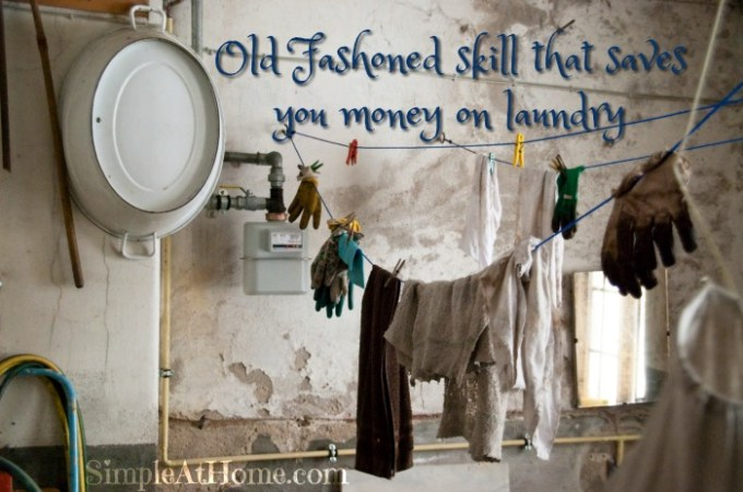 Save money on laundry