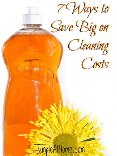 Cut cleaning costs with these 7 tips