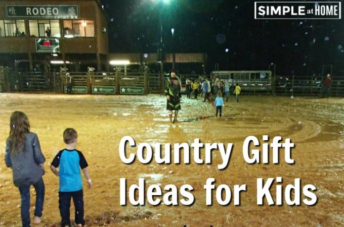 Country Gift Ideas for Kids