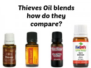 Compare 4 Theives Oil bends to find the right one for your family