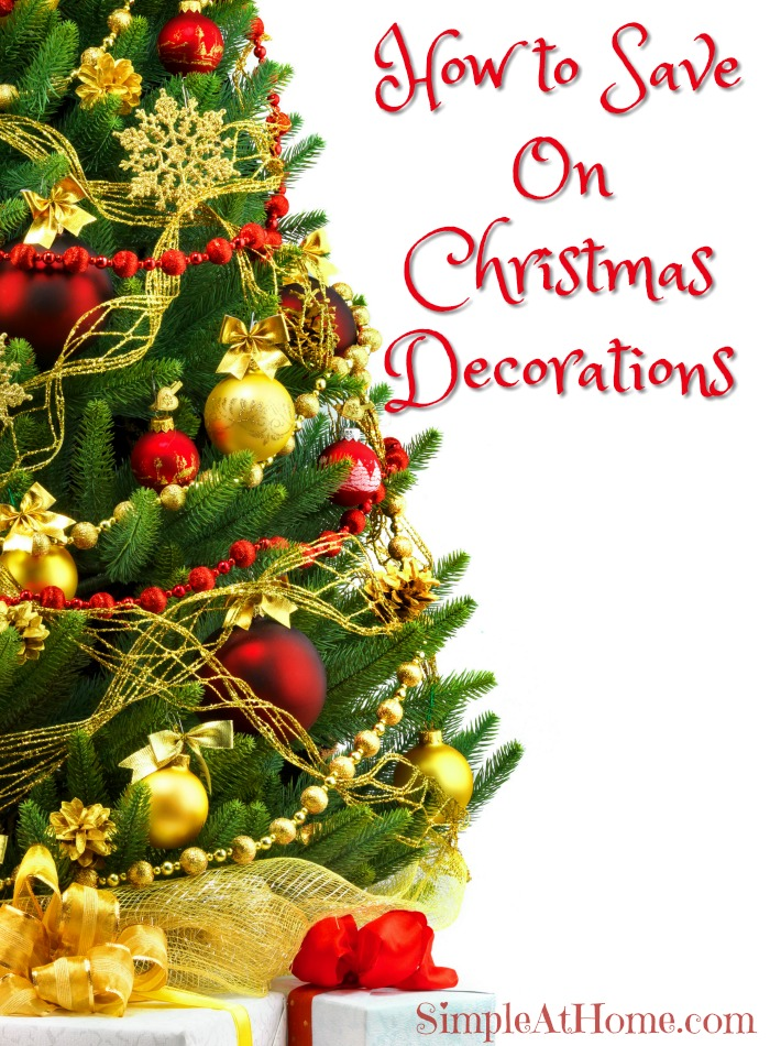 How to Save On Christmas Decorations
