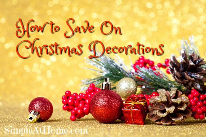 to Save On Christmas Decorations
