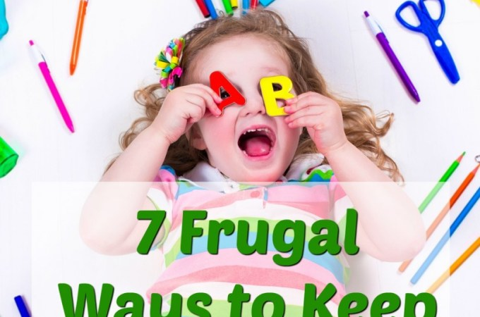 7 Frugal Ways to Keep Kids Busy