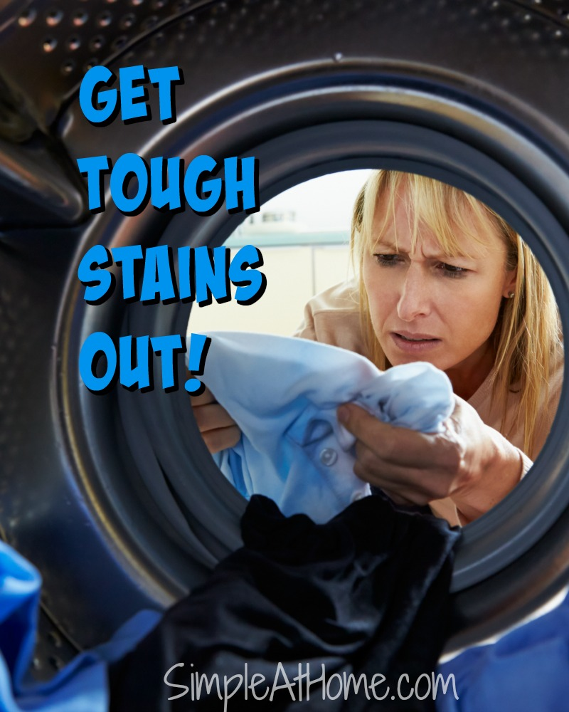 Get Stains Out: Handy tricks for clean laundry