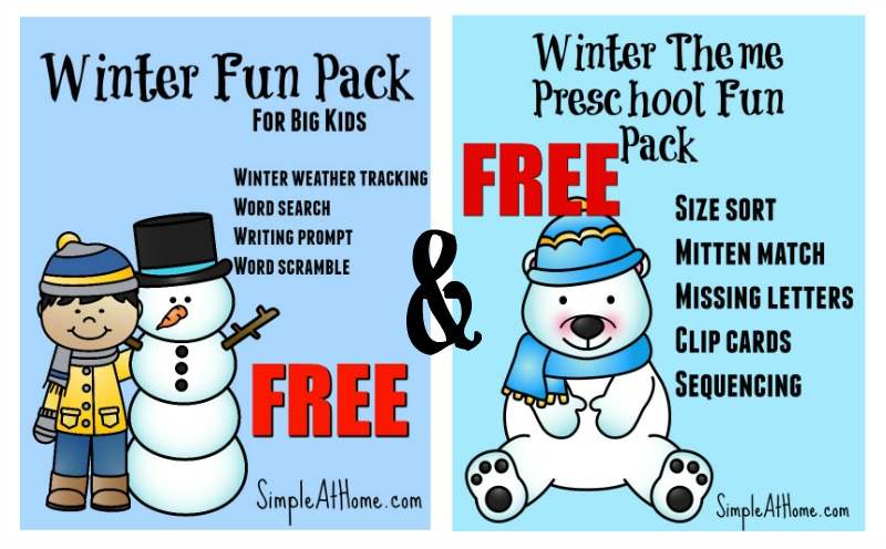 Free Winter Educational Fun
