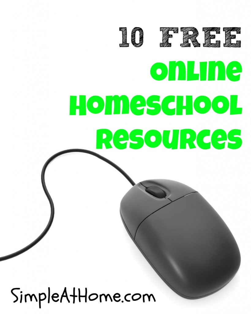 10 FREE Online Homeschool Resources to help you succeed at homeschooling without stressing your piggy bank.