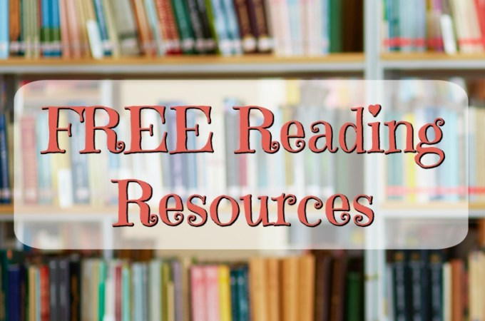 FREE Reading Resources for Parents, Teachers, and Homeschool