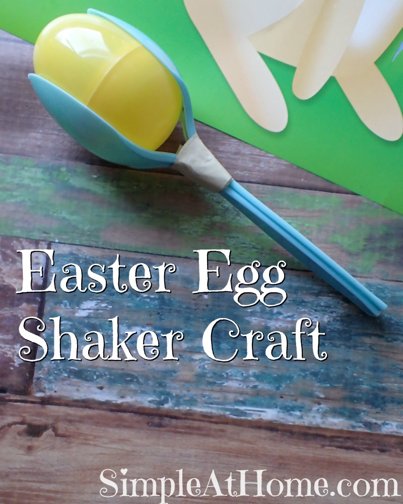 need a way to use those Easter eggs? This Easter Egg Shaker craft is just perfect for some active learning fun.