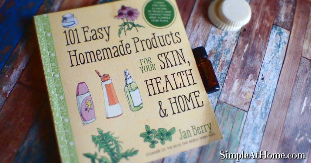 Make great homemade products for your family, home, and pets using easy to find common ingredients.
