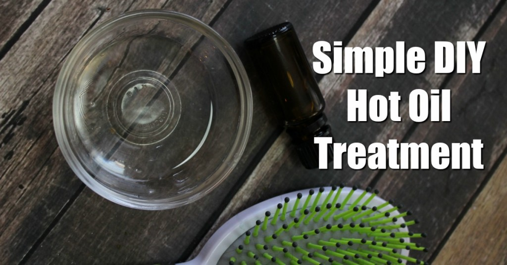 Simple homemade oil oil treatment anyone can do in under 10 minutes.