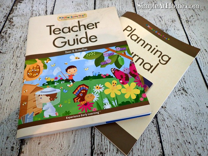 Teacher Guides make Mother goose Time a breeze for busy families.