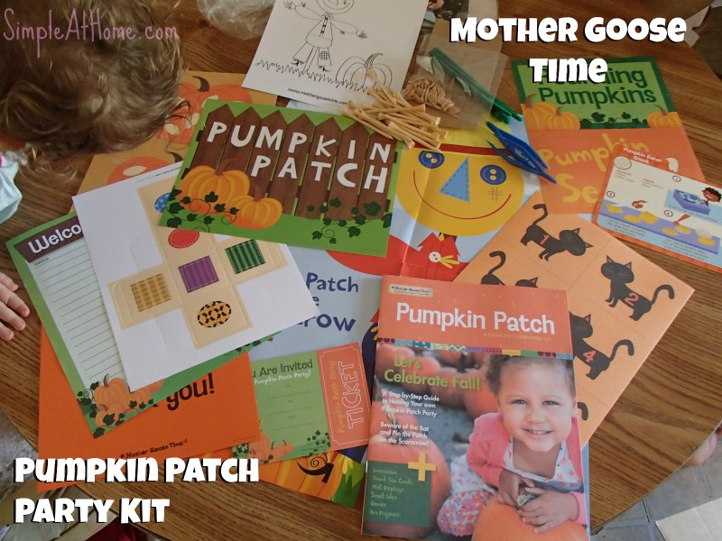 Mother Goose time Pumpkin Patch Party