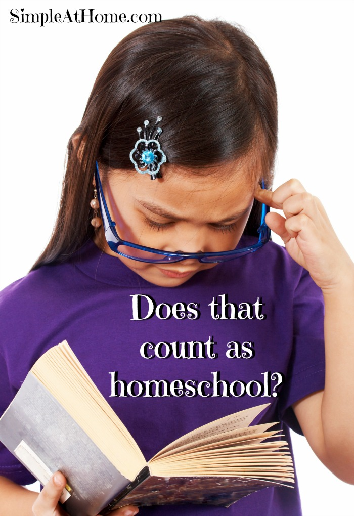 New to homeschooling? Find out what counts as homeschooling for your log?