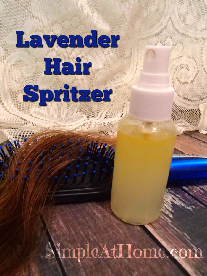 Got frizzy? Dry? or crazy air? Try this DIY hair spritzer to heal and control your wild hair.