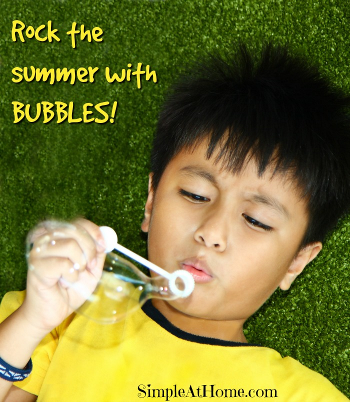 Learn and Play with Bubbles