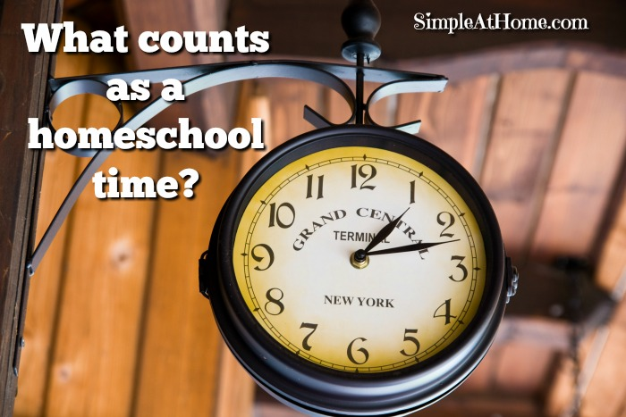 Ever wonder what counts as homeschooling? You would be amazed at what you can log as part of your homeschool day.
