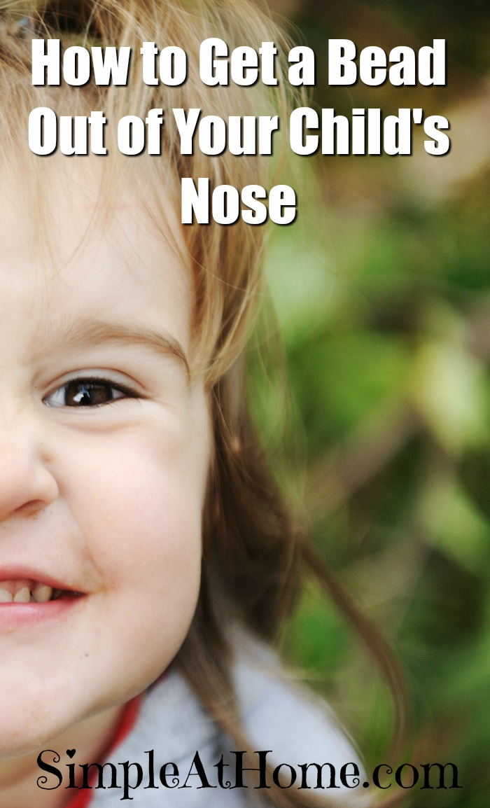 Yeah we have been there. Get a bead out of your childs nose the easy trauma free way. Save tis one for later you know you're gonna need it one day