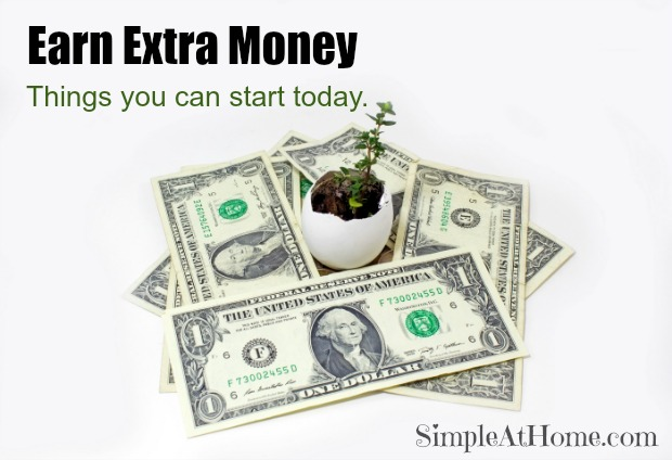 Great ways to start earning extra money now
