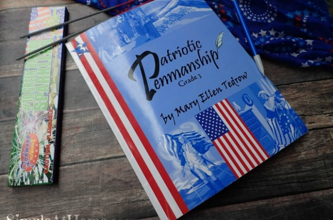 Cursive and History with Patriotic Penmanship