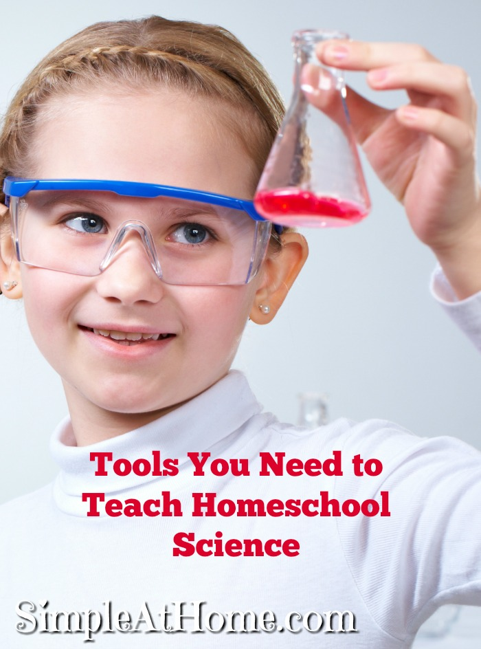 Science is one of the funnest parts of homeschooling. These tools will help you teach homeschool science.
