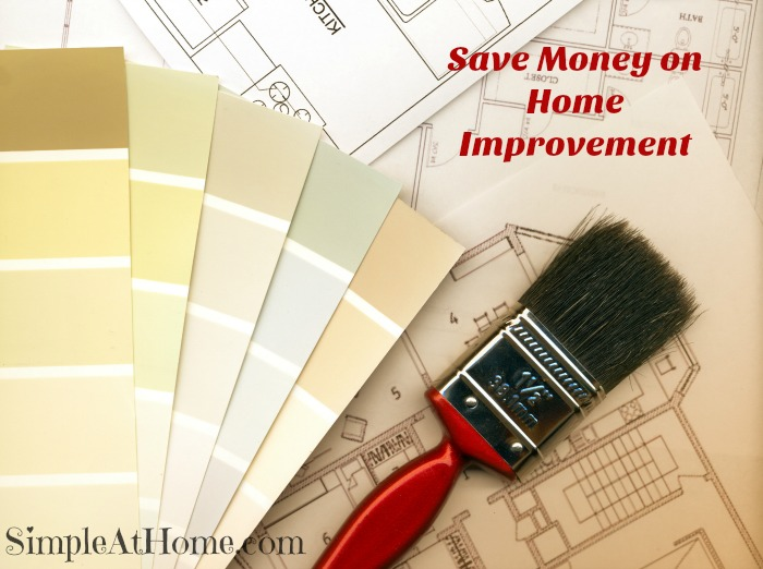 saving money on home imporvement