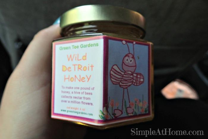 Raw Detroit honey Eastern Market Detroit MI