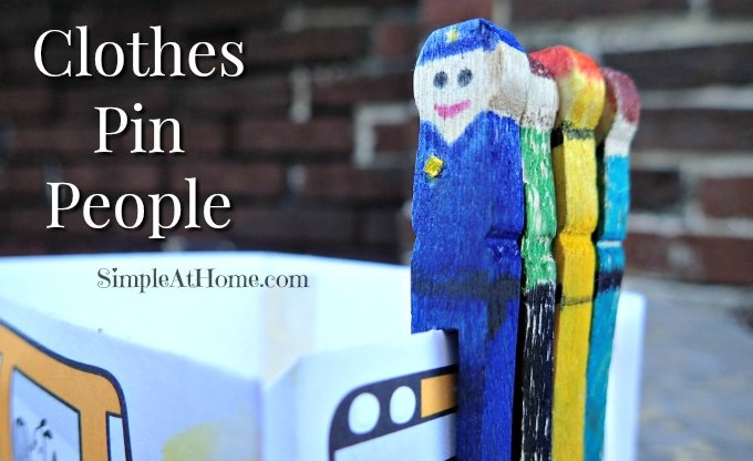 Clothes Pin People