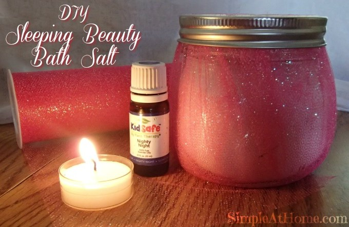 Sleeping Beauty Bath Salt DIY