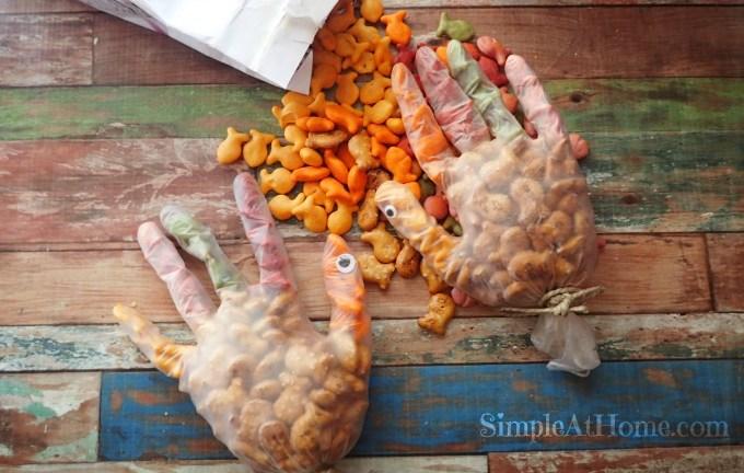 Turkey Goldfish Snacks